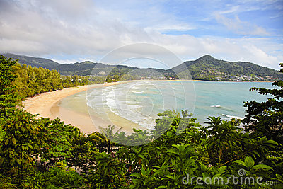Tropical beach - Thailand, Phuket, Kamala