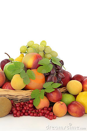 Free Tropical, Citrus And Berry Fruit Stock Photography - 17239022