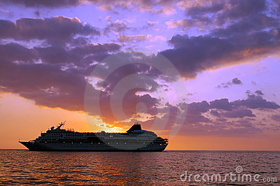 Tropical Cruise Ship