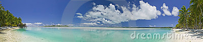 Tropical Dream Beach Paradise Panoramic