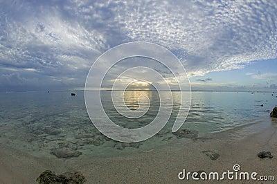 Tropical Dream Beach Sunset