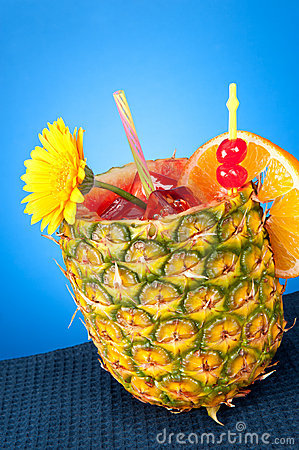 Free Tropical Drink Royalty Free Stock Image - 18298006