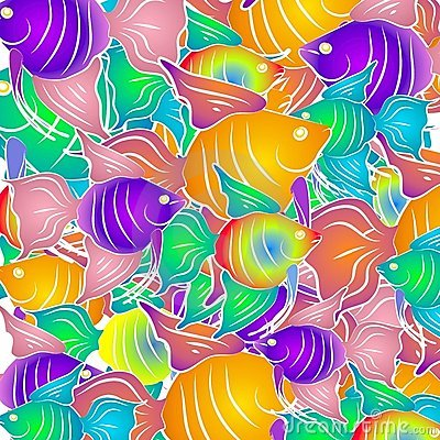 Tropical Fish Background