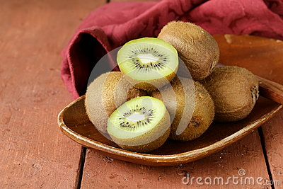 Tropical fruit fresh sweet ripe kiwi