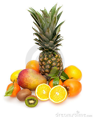 Free Tropical Fruits Royalty Free Stock Image - 22086596