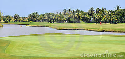 Tropical Golf Course