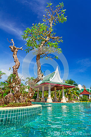 Tropical holidays scenery