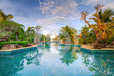 Tropical holidays in Thailand