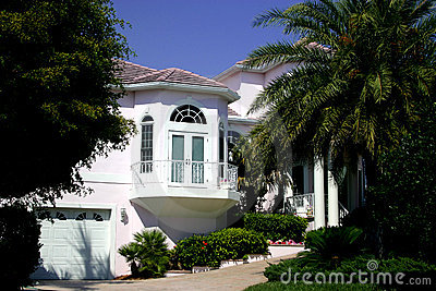 Tropical home or mansion