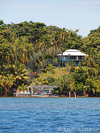 Tropical house in Bocas del Toro