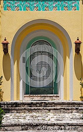 Tropical House Door