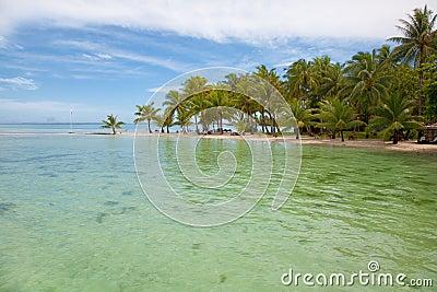 Tropical isea and beach
