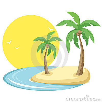Free Tropical Island Stock Photo - 13304720