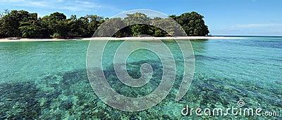 Tropical island panorama