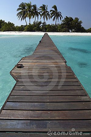 Tropical island paradise - Maldives