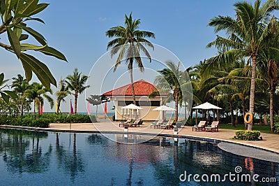Tropical Island Paradise Resort