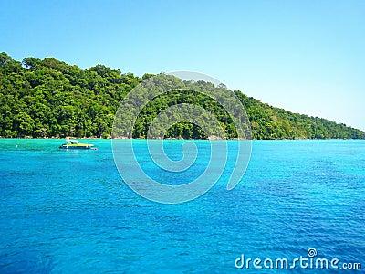 Tropical Island at thailand