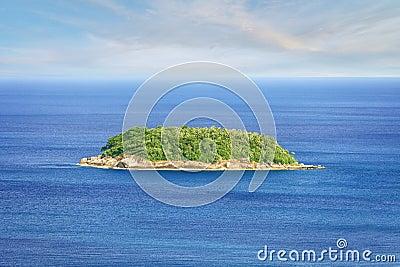 Tropical island. Thailand, Phuket, Rawai.