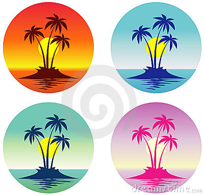 Tropical Island (Vector)