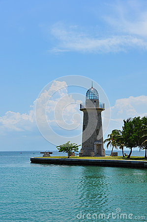 Tropical lighthouse