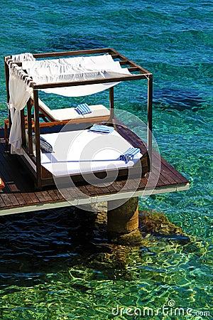 Tropical Luxury Beach Cabana