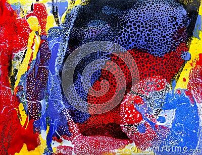 Tropical Nature Abstract Art Bau-xi Huang