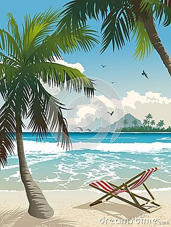 Free Tropical Paradise Royalty Free Stock Photo - 15257955