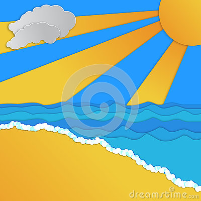 Tropical Paradise Design Vector Illustration