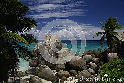 Tropical paradise, Mahe, Seychelles