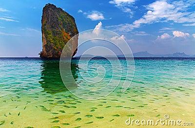 Tropical paradise, Poda Island, Thailand