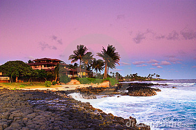 Tropical paradise, romantic getaway, Kauai Hawaii