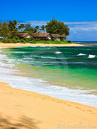 Tropical paradise, Wainiha Beach, Kauai, Hawaii