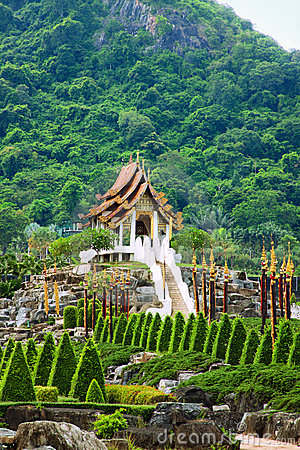 Tropical park Nong Nooch