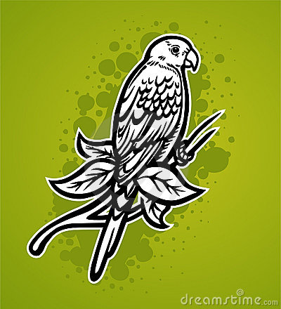 Tropical Parrot Royalty Free Stock Images - Image: 12203619