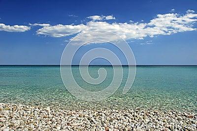 Tropical perfect beach