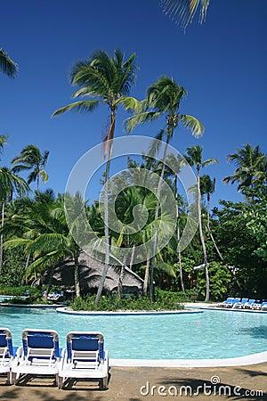 Tropical Pool at Resort