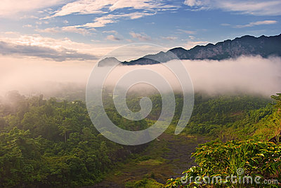 Tropical rain forests,Ratchapraph a National Park