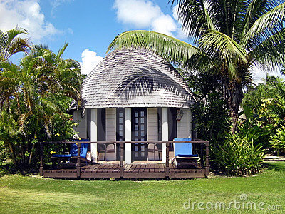 Tropical resort accommodation