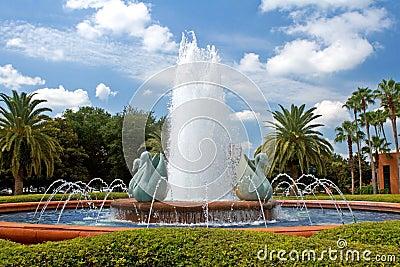 Tropical Resort Fountain