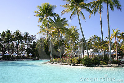 Tropical resort, Port Douglas, Queensland