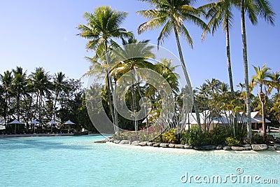 Tropical resort, Port Douglas, Queensland