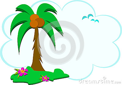 Tropical Scene of Nature