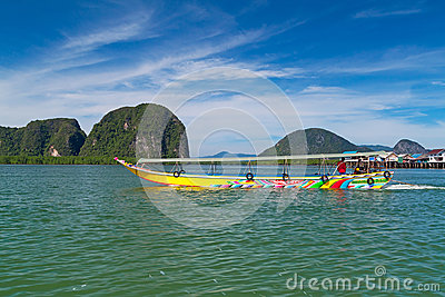 Tropical scenery of National Park in Thailand