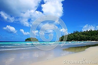 Tropical sea , kata beach