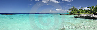 Tropical sea panorama