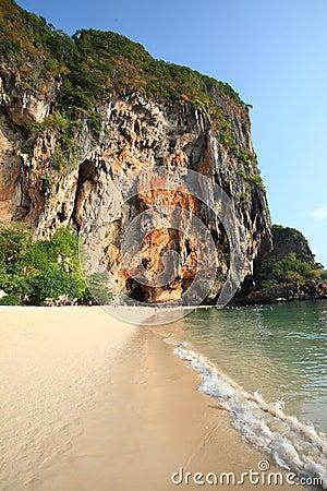 Tropical sea, Railay beach,