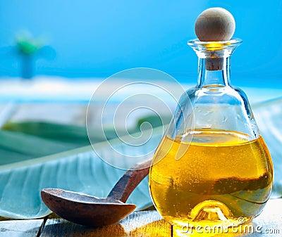 Tropical spa treatment