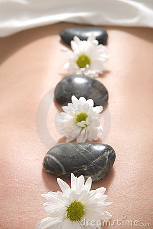 Free Tropical Stone Massage Stock Image - 16413201