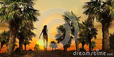 Tropical Stroll - 01