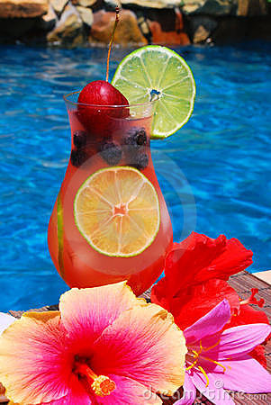 Tropical Summer Drink